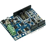 Cytron 10A Bi-directional DC Motor Driver Shield for Arduino, 7v-30v, peak 15A