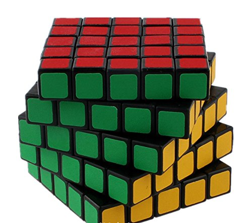 QTMY Plastic 5x5x5 Speed Magic Cube Puzzle …