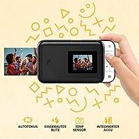Amazon.com: KODAK Smile Cámara digital de impresión ...