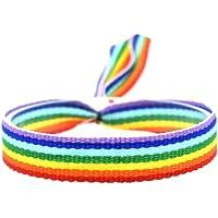 BDM Pulsera Bandera LGBTI arcoríris, es Unisex y Ajustable para revindicar tu Orgullo. Pride Gay, Lesbiana, Bisexual y…