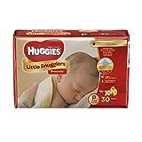 Huggies Little Snugglers Diapers, Preemies, 30 Count