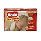 Baby : Huggies Little Snugglers Baby Diapers, Size Preemie, 30 Count (Packaging May Vary)