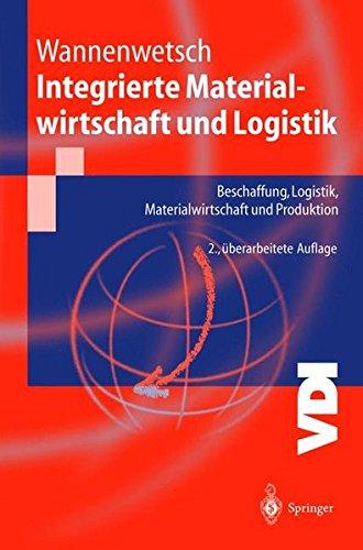 Integrierte Materialwirtschaft und Logistik: Beschaffung, Logistik, Materialwirtschaft und Produktion (VDI-Buch) Taschenbuch – 9. Oktober 2003 Helmut Wannenwetsch Springer 3540004815 Automatic control engineering