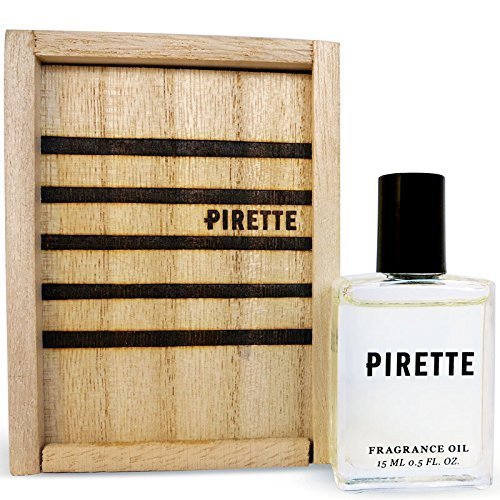 PIRETTE Perfume Oil for Women - Beach Inspired Fragrance with Long Lasting Notes of Fresh Coconut, Surf Wax and Sunscreen (15 ml)