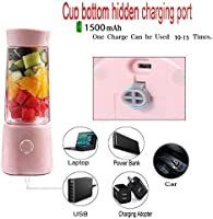 LQ&XL 400ML Mini Blender Multifuncional, Botella portátil de la ...