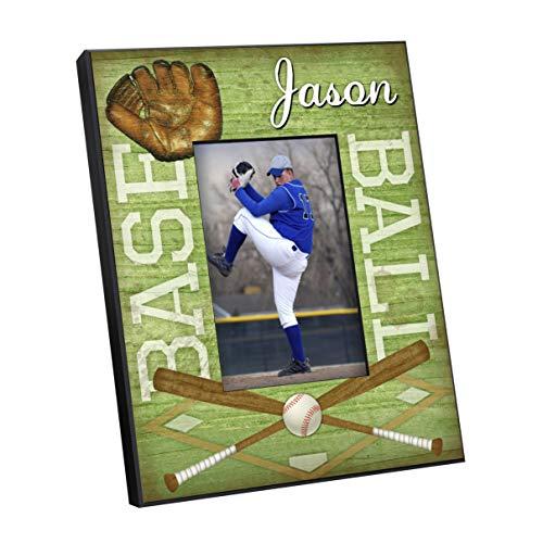 Personalized Kids Sports Frames - Baseball