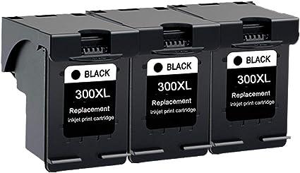 Karl Aiken 3 x negro reciclados HP 300 cartuchos de tinta compatible con HP Deskjet F4580 F2480 F4280 F2420 F4500 D2660, HP Photosmart C4680 C4780, HP Envy 110 100 120 114: Amazon.es: Oficina y papelería