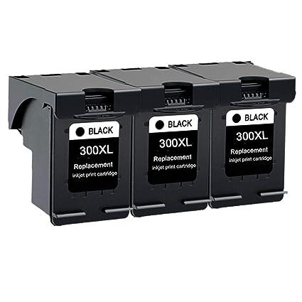 Karl Aiken 3 x Negro reciclados HP 300 Cartuchos de Tinta ...