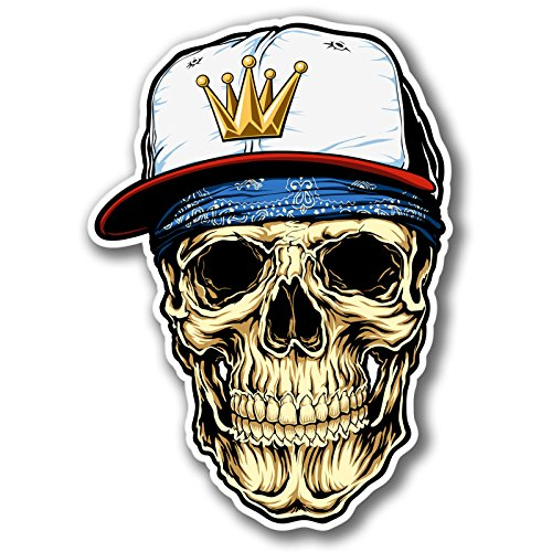 2 x Skull Snap Back Hat ()