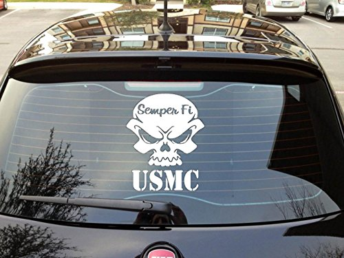 SEMPER MARINE Sticker Window Laptop
