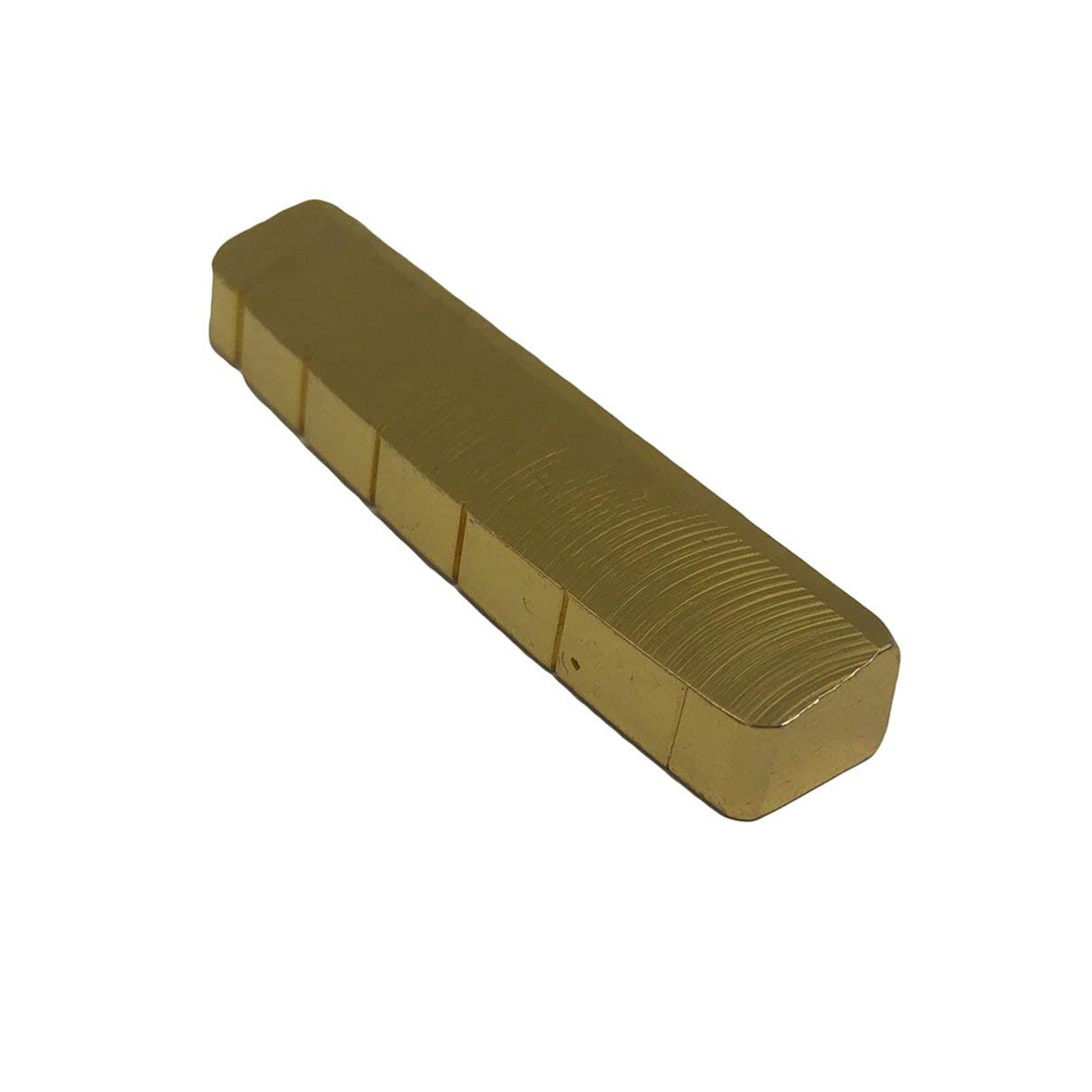 42mm Pre-Slotted Brass Nut Replacement for 6 String Electric//Acoustic Guitar