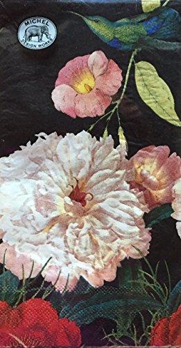 peony blossom paper hostess napkins