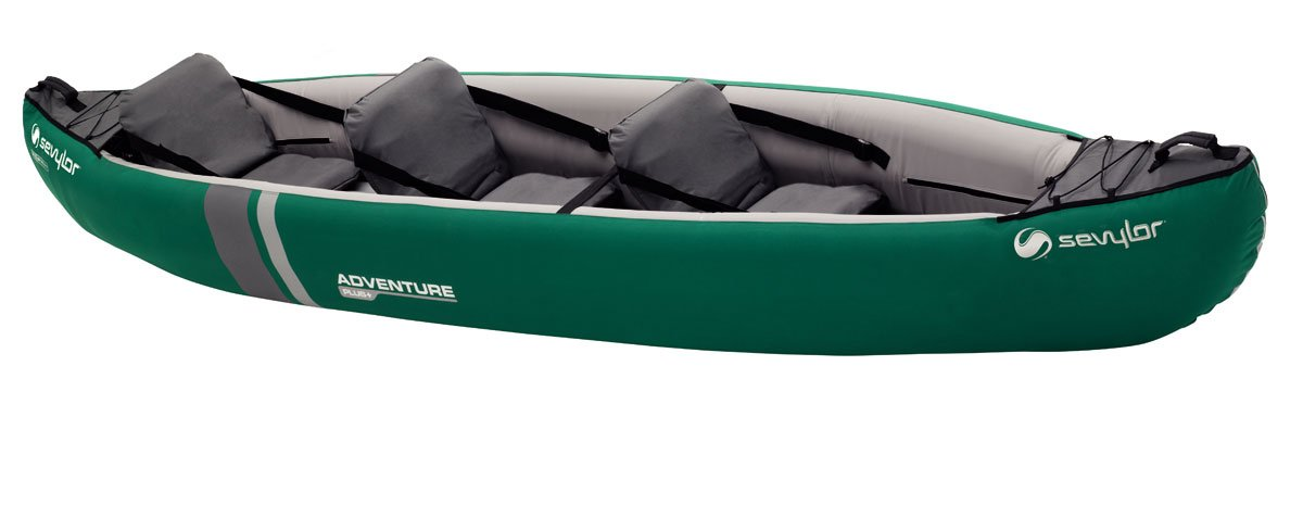 Sevylor Canoa Adventure Plus P Sevylor Adventure Plus P Canoa color verde