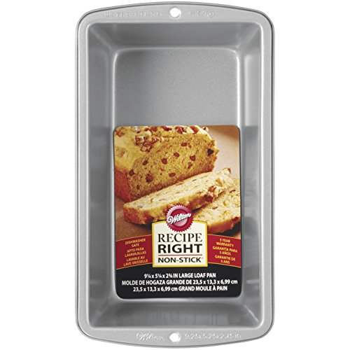 (Wilton 2105-951 070896590510 Recipe Right Large Loaf Pan, STANDARD,)