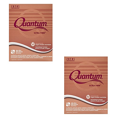 ZOTOS Salon Quantum Ultra Firm Exothermic Perm Normal Hair HP-48432 (2 Pack) by Zotos