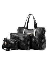 Feccoe Women Handbag Shoulder Bags Tote Purse Leather Ladies Messenger Hobo Bag