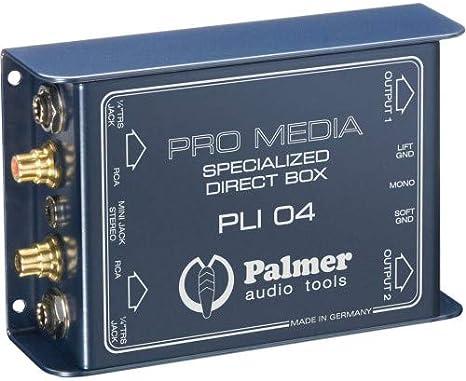 Palmer Pro Media PLI 04 - Caja de inyección directa para PC y ...