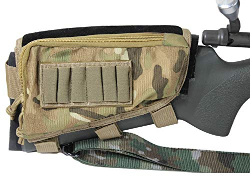 (Tactical Sharpshooter Sniper Stockpack | Multi-Cam/Micro-Suede)