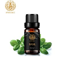 Basil Aromatherapy Essential Oil, 100% Pure Basil Scent Essential Oil for Diffusers, Humidifier, Therapeutic Grade Aromatherapy Basil Scent Essential Oil Fragrance for Massage Home 0.33oz-10ml