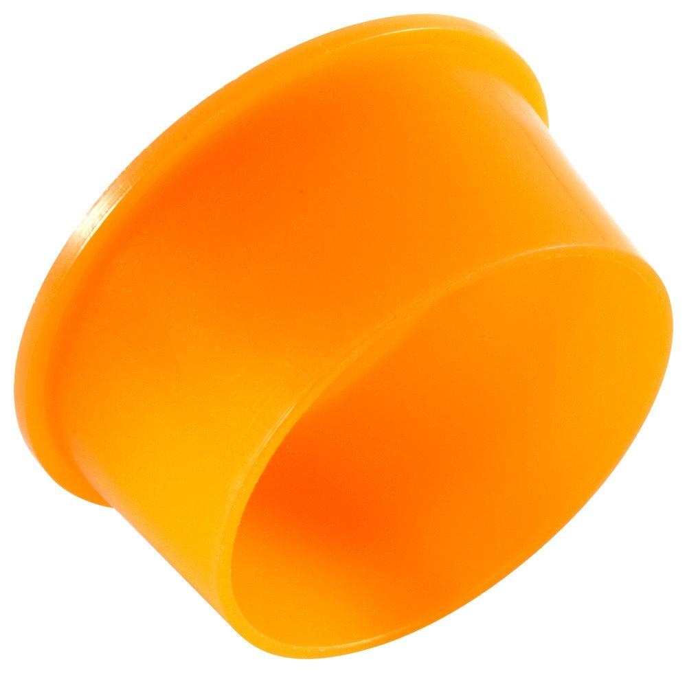 Caplugs ZEZ1511AH1 Plastic NPT Plug. EZP-151, PE-LD, Cap OD .28'' Plug ID .397'', Orange (Pack of 500)