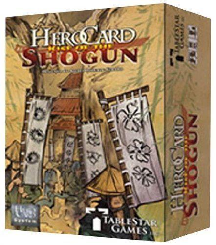 HeroCard Rise Of The Shogun by TableStar (Tablestar Games)