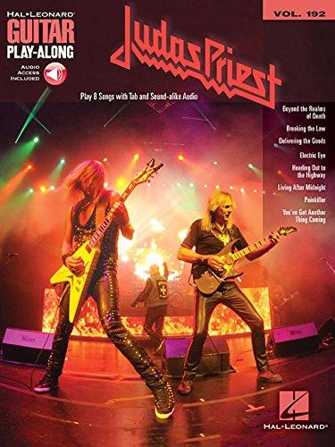 Judas Priest: Guitar Play-Along Volume 192 (Hal-Leonard Guitar Play-Along) (Guitar Play Along Book)