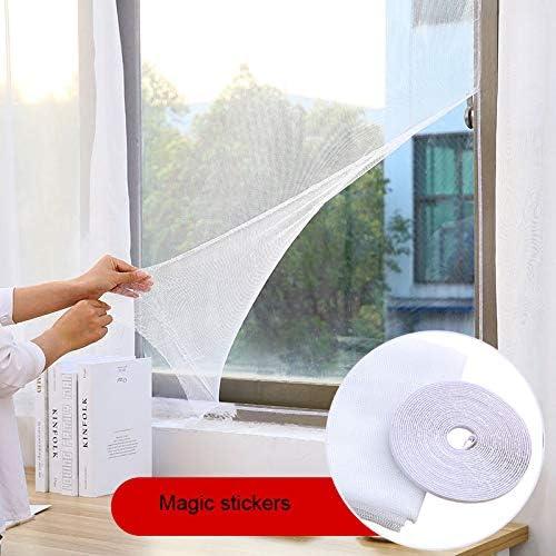 /Mosquitera en color blanco para 150/x 130/cm /Mosquitera para ventanas sin taladrar/ auto-adhesivos/
