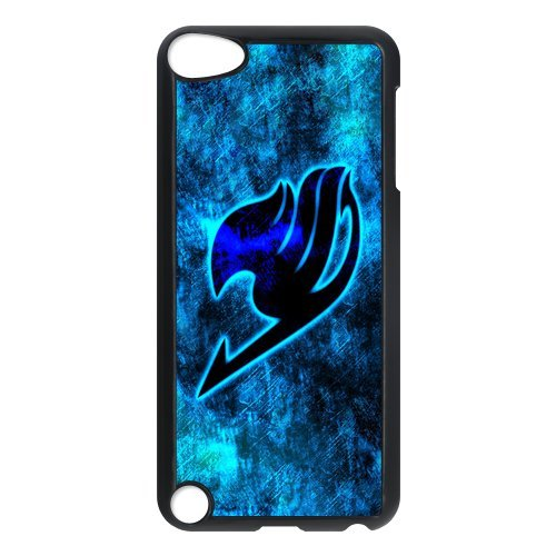 iPod Touch 5 case,Fairy Tail Hard Plastic Case for iPod Touch 5/5th Generation,iPod Touch 5th Generation Case,apple iPod Touch 5 cover Skin protector(Black/White)