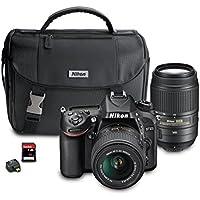 Nikon D7100 DX-Format Digital SLR Camera Bundle with 18-55mm and 55-300mm VR NIKKOR Zoom Lenses Advantages Review Image