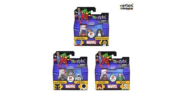 Amazon.com: Minimates Marvel Toys R Us Wave 26 (Walgreens ...