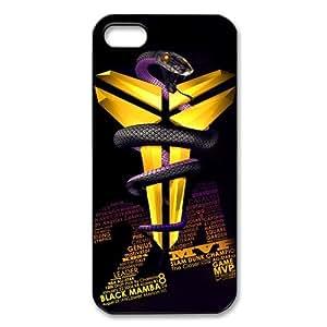 Coolest Los Angeles Lakers Kobe Bryant Apple Iphone 5S/5 Case Cover #24 Logo Peter Pan Black Mamba VINO Rattlesnake