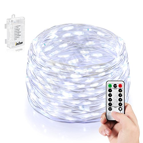 Homestarry Battery String Lights : Homestarry 66 LED Mini Battery String Lights, 16 Feet, Cool White Cool Home Decor Olivia ...