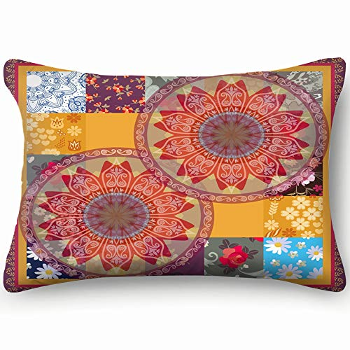 Square Silk Scarf Cushion Greeting Invitation The Arts Cotton Linen Blend Decorative Throw Pillow Cover Cushion Covers Pillowcase Pillow Shams, Home Decor Decorations For Sofa Couch Bed Chair 20X36 In