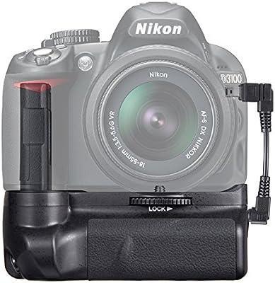 SAMTIAN BG-2F empuñadura de batería para Nikon D3100 D3200 D3300 ...