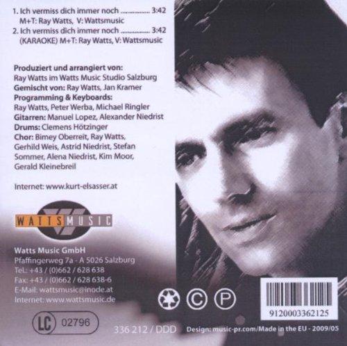 Ich Vermiss Dich Immer Noch Kurt Elsasser Ray Watts Amazonde Musik