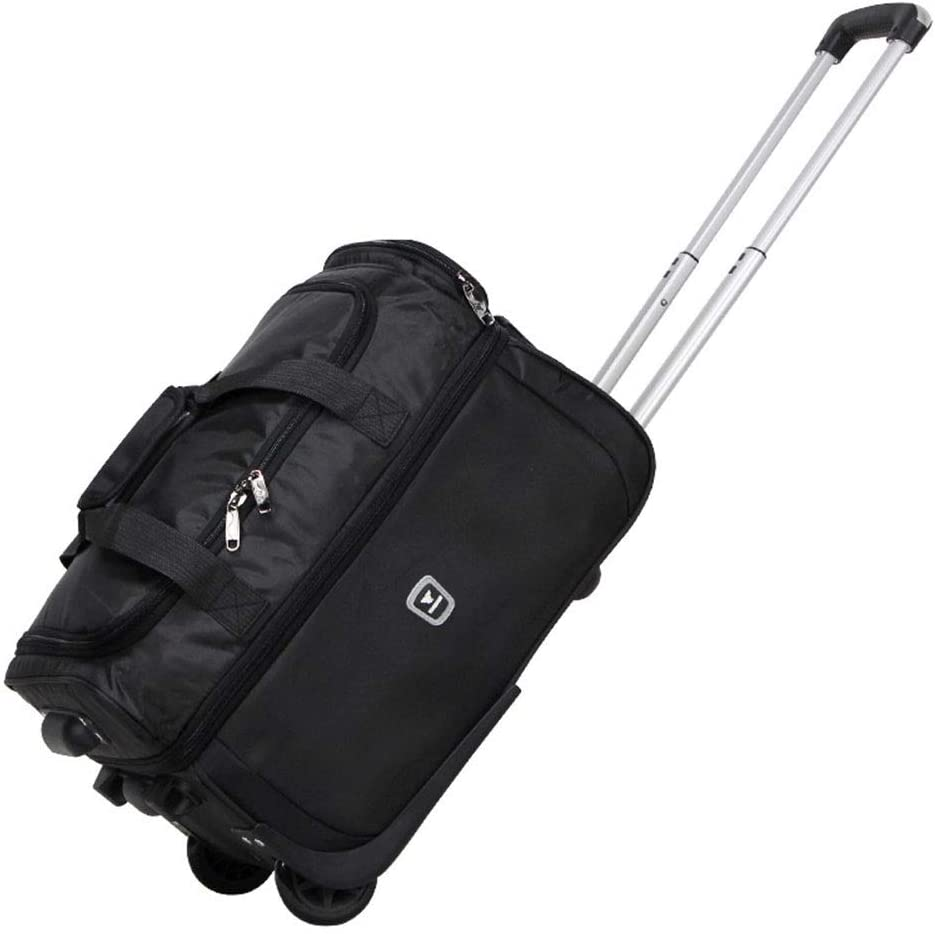 Color : Black2, Size : 563134 Oxford Travel Bags Large Capacity Trolley Case Carry On Hand Luggage Super Lightweight Durable Hold Luggage Suitcases Tingting