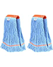 Nine Forty Industrial Strength Premium Looped End Wet Mop Head Refill – 4 Ply Synthetic Yarn