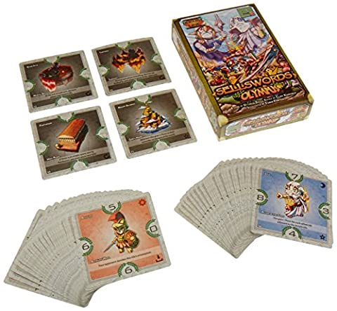 Level 99 Games Sellswords: Olympus Board Games - 99 Peaches