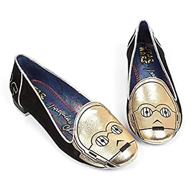 Star Wars C3PO Irregular Choice Womens Loafers Flats Shoes (8.5)