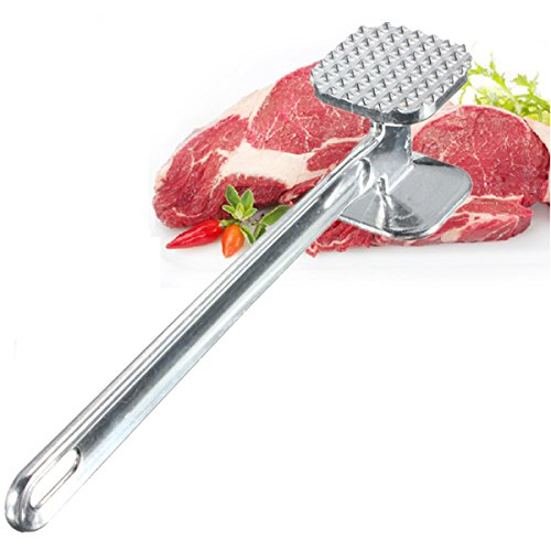 Purchase dipshop Aluminium Double Side Meat Tenderizer Meat Mallet Steak Hammer Kitchen Pounder Tool offer