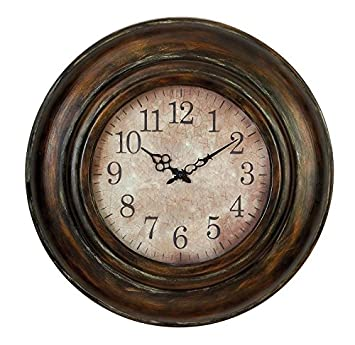 Deco 79 Metal Wall Clock Long Lasting Utility Product