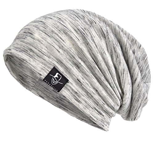 Slouch Beanie - VECRY Men Slouch Hollow Beanie Thin Summer Cap Skullcap (Multi-Pale)