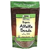 NOW Foods, Organic Alfalfa Seeds For