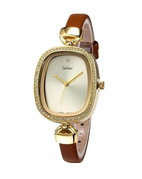 Versión coreana de diamantes relojes/Vintage Ladies Reloj/de la mujer diamante Watch-