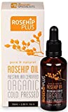Rosehip Plus Pure & Natural Rosehip Oil Australian Certified Organic Cold Pressed 1.69 Fl Oz. (6 Pack)