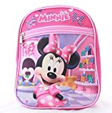 Minnie Mouse Girls Kids Toddler Preschool Mini Backpack Baby 10'' mini