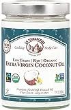 Tropical Traditions Coconut Oil La Tourangelle, Organic Extra Virgin Coconut Oil, 17 Fluid Ounce