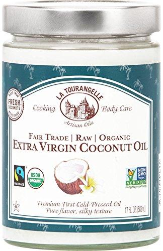 La Tourangelle, Organic Extra Virgin Coconut Oil, 17 Flui...