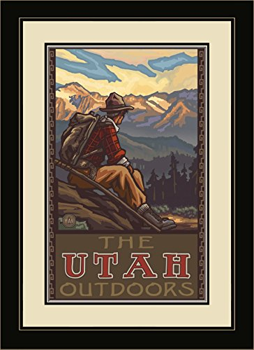 northwest-art-mall-pal-0656-mfgdm-mhm-utah-outdoors-mountain-hiker-man-framed-wall-art-by-artist-pau