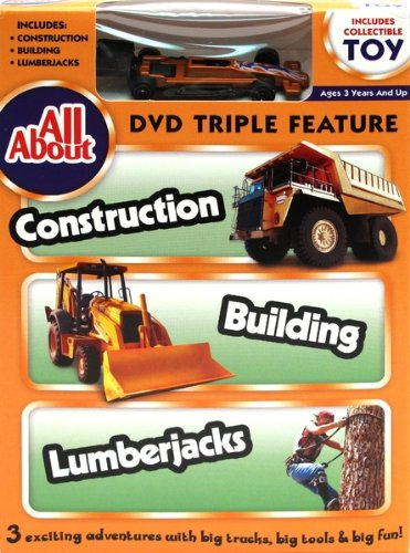 Iwgac All About Construction-Building-Lumberjacks DVD with Collectible Toy